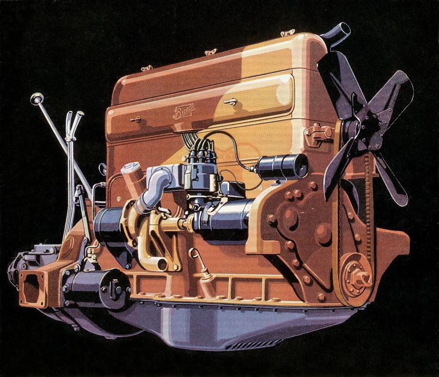 Pontiac Straight 8 Engine Diagram