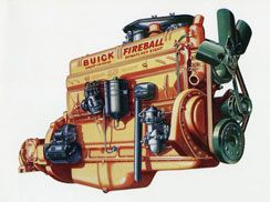 Buick 1941 Engine