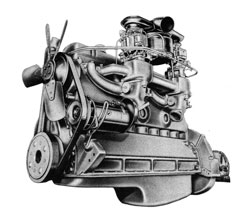 Buick 1941 Engine