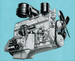 Buick 1949 Engine