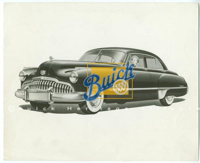 Official Buick Motor Division Press Image Buick Heritage